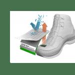 Pies secos y máximo confort: membranas impermeables y transpirables en el calzado de seguridad