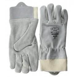 PAR de guantes de Piel...