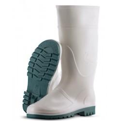 Par de botas de PVC BLANCA...