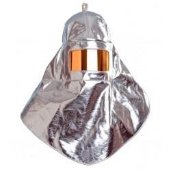 Capuz aluminizado con visor...