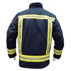 Parka para bomberos...