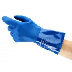 Par de guantes de PVC...