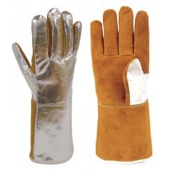 Par de guantes aluminizado...
