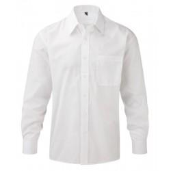 Camisa blanca manga larga...