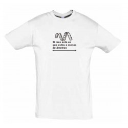 Camiseta blanca para HOMBRE...
