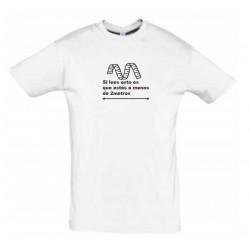 Camiseta blanca para MUJER...