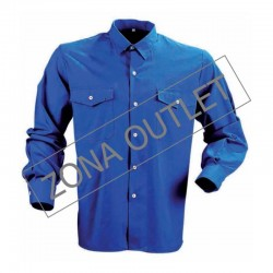 Camisa HOMBRE ML 50/50 GRIS...