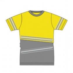 Camiseta alta visibilidad...